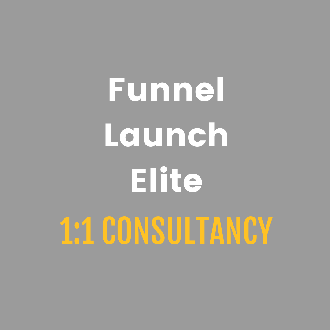 Funnel Launch Elite 1:1 Consultancy